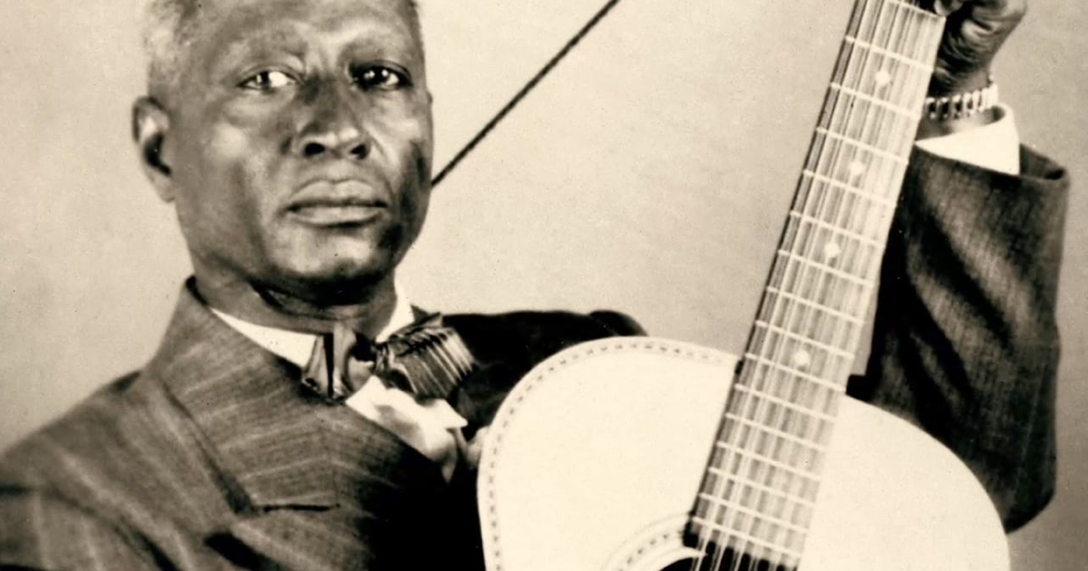 Introduction to Lead Belly: The Smithsonian Folkways Collection