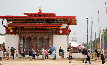 Building a Bhutanese Temple on the National Mall