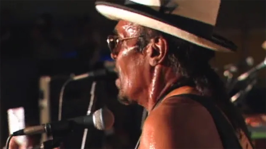 Chuck Brown at the 2000 Folklife Festival