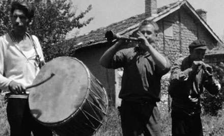 Rare footage of Romani band in Macedonia, 1968